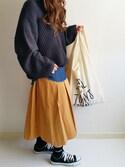 Ayumiさんの「マルシェバッグ / Marche Bag(TODAY'S SPECIAL|トゥデイズスペシャル)」を使ったコーディネート