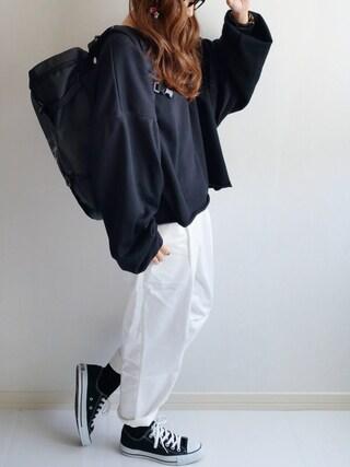Ayumiさんの「靴下屋/ 2×2 リブソックス(クルー丈)(靴下屋|クツシタヤ)」を使ったコーディネート