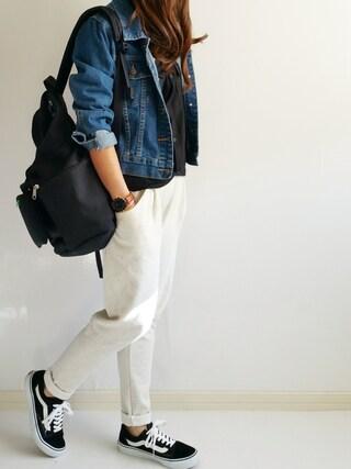 Ayumiさんの「靴下屋/ 無縫製メランジ カジュアルカバーソックス(靴下屋|クツシタヤ)」を使ったコーディネート
