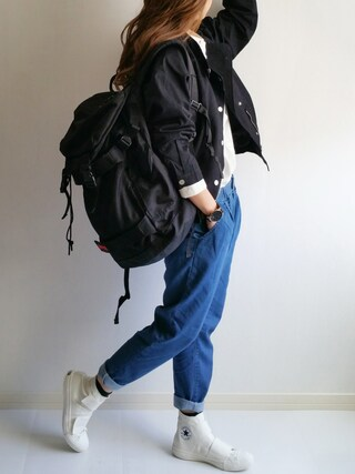 「COONVERSEALLSTAR BIGBELT(CONVERSE)」 using this Ayumi looks
