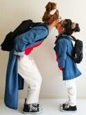 Ayumiさんの「フェイクファーヘアゴム【PLAIN CLOTHING】(PLAIN CLOTHING|プレーンクロージング)」を使ったコーディネート