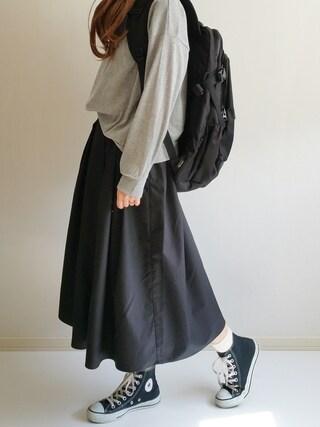 「タイプライタータックスカート 713132(LOWRYS FARM)」 using this Ayumi looks