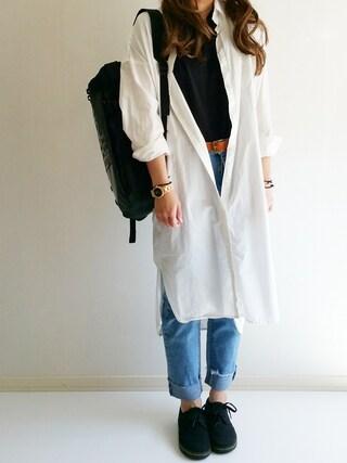 「Dr.Martens ドクターマーチン SOHO 3EYE SHOE ソーホー 3アイレット シューズ 13528002 BLACK(Dr.Martens)」 using this Ayumi looks