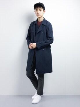ZOZOTOWN|青山友さんの(Traditional Weatherwear|トラディショナルウェザーウェア)を使ったコーディネート