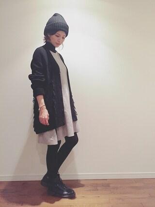 安田美沙子さんの(rag & bone|ラグアンドボーン)を使ったコーディネート