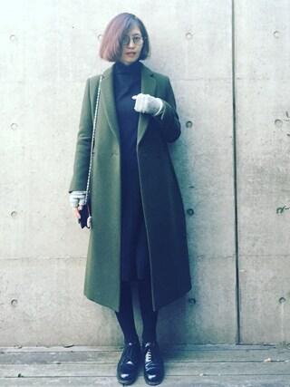 安田美沙子さんの(mame|マメ)を使ったコーディネート