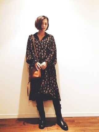 安田美沙子さんの(ZARA|ザラ)を使ったコーディネート