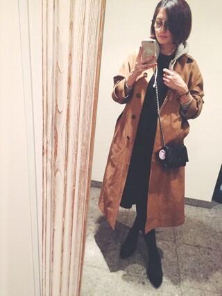 安田美沙子さんの(FLORENT|フローレント)を使ったコーディネート