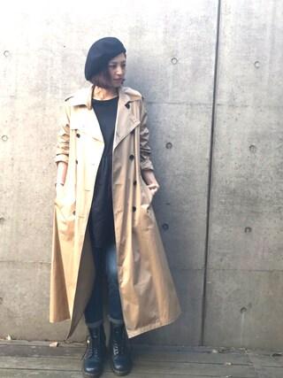 安田美沙子さんの(LUGHA|ルーガ)を使ったコーディネート