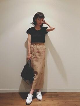 安田美沙子さんのコーディネート