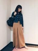 安田美沙子さんの(styling/|アレキサンダーワン)を使ったコーディネート