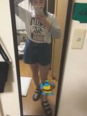 はや is wearing VINTAGE