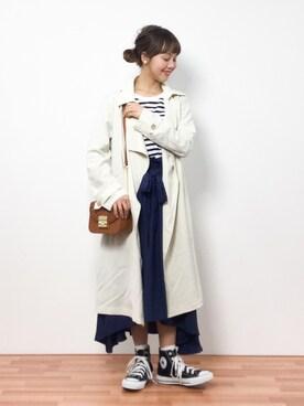 ZOZOTOWN|内山陽菜さんの(PLAIN CLOTHING|プレーンクロージング)を使ったコーディネート