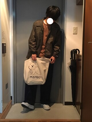だいちゃんさんの「DOORS Raglan 8/S Tee(URBAN RESEARCH DOORS MENS|アーバンリサーチ ドアーズ メンズ)」を使ったコーディネート