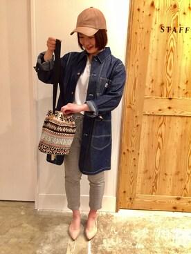 coen橿原アルル店|徳永裕紀さんの(coen|コーエン)を使ったコーディネート