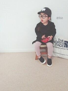 ピスコ☆兄妹さんの「まるで着る毛布 裏シャギー膝丈スウェットワンピース 裏起毛(devirock|デビロック)」を使ったコーディネート