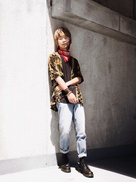 (Dr. Martens) using this ショーン 大城 looks