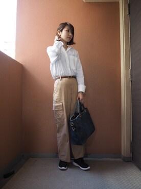 yukari kitamuraさんの(GU)を使ったコーディネート