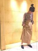 Izumi Satouさんの「BY PHILIPPE AUDIBERT APRIL スターモチーフブレスレット(BEAUTY&YOUTH UNITED ARROWS|ビューティアンドユースユナイテッドアローズ)」を使ったコーディネート