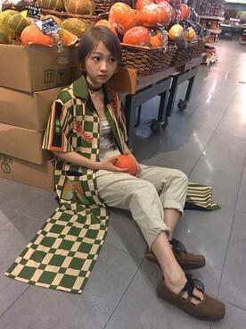 (かぼちゃ)使用HU-Dachao的搭配