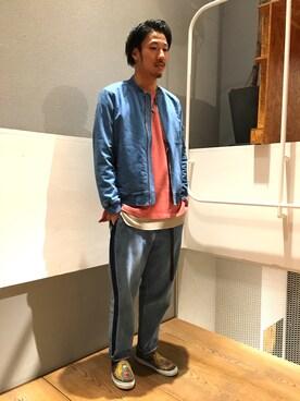 RAGEBLUE京都寺町店|正田【RAGEBLUE】さんの(RAGEBLUE|レイジブルー)を使ったコーディネート