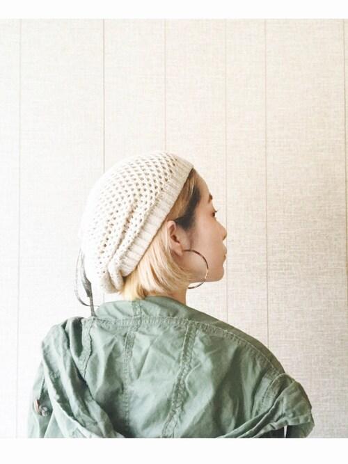 おーちゃかさんの(CHIHIRO YASUDAとカオリノモリ)を使ったコーディネート
