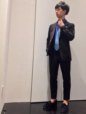 TRANS CONTINENTS 銀座ベルビア店|hironoriさんの(TRANS CONTINENTS|トランスコンチネンツ)を使ったコーディネート