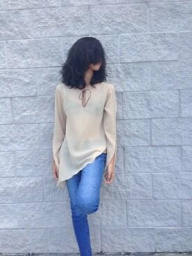 Mya Arong is wearing New York & Company