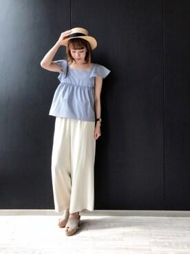 ROPE' PICNIC グランフロント大阪|yuukaさんの(ROPE' PICNIC|ロペピクニック)を使ったコーディネート