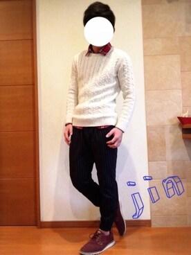 Jinさんの(WEGO|ウィゴー)を使ったコーディネート