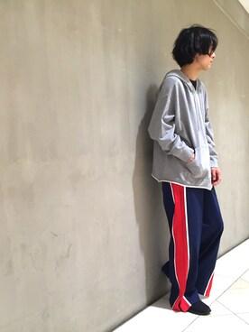 Lui's/EX/stoer難波店|イリザワさんの(New Balance|ニューバランス)を使ったコーディネート