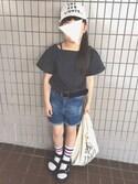 yuuさんの「ミニマルシェバッグ / Mini Marche Bag(TODAY'S SPECIAL|トゥデイズスペシャル)」を使ったコーディネート