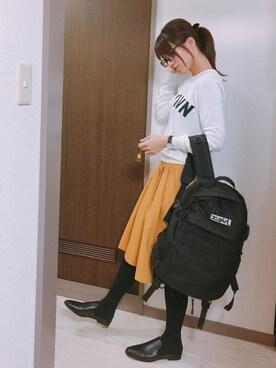 たむきちさんの(X-girl|エックスガール)を使ったコーディネート