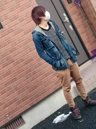 「Bryan mountain parka(glamb)」 using this 後藤 looks