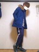 taichiさんの「STUDIOUS フーデッドダウンコート MADE IN JAPAN.(STUDIOUS|ステュディオス)」を使ったコーディネート