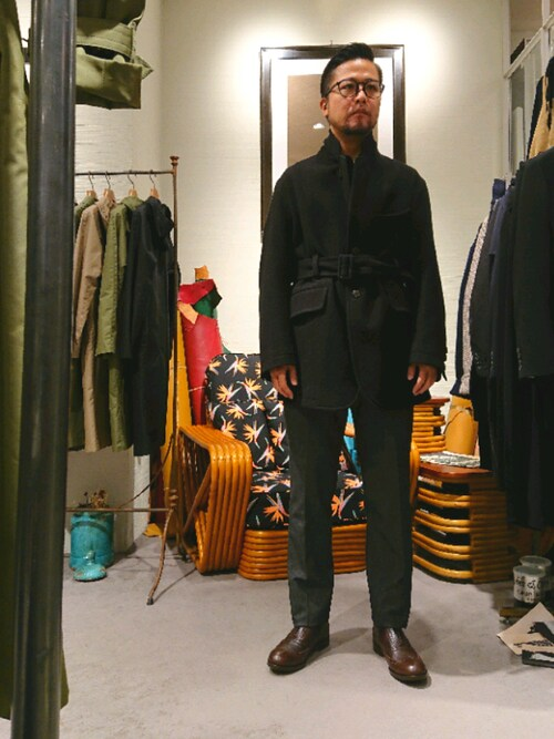 RAWLIFE 銀座店keitaさんのドレスシューズ「TOMOTAKA ONOZAKI/トモタカ オノザキ/wing tip shoes/ウィングチップシューズ(RAWLIFE|ロウライフ)」を使ったコーディネート
