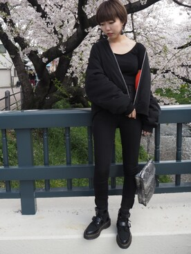 「Dr Martens Masha Creeper Boots(Dr. Martens)」 using this yu_ka*° looks