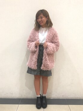 AS KNOW AS コンシート武蔵村山ダイヤモンドミュー NIINAさんの(AS KNOW AS PINKY)を使ったコーディネート