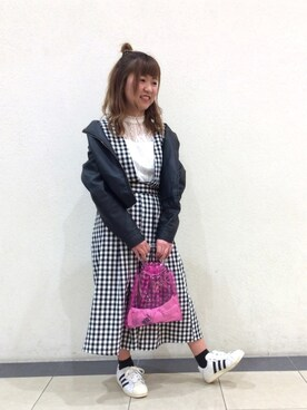 AS KNOW AS コンシート武蔵村山ダイヤモンドミュー|NIINAさんの(AS KNOW AS PINKY)を使ったコーディネート