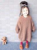 sachinoさんの(韓国子供服)を使ったコーディネート