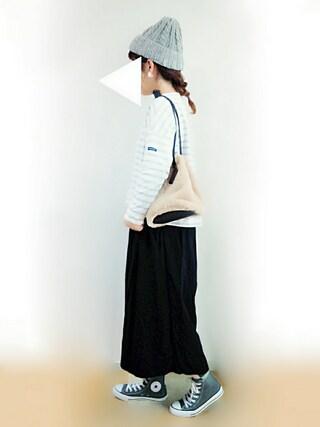 「●小パール ボール形イヤリング●(Dot&Stripes CHILD WOMAN)」 using this Suuu * looks