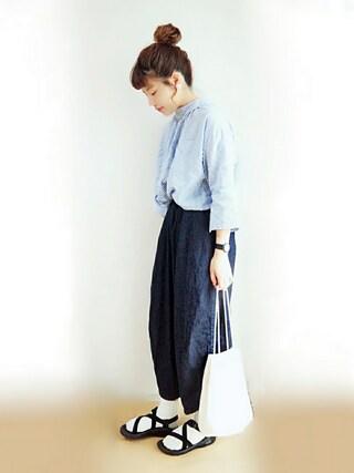 「【3WAY】ストライプシャツ(CIAOPANIC TYPY)」 using this Suuu * looks