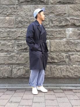 ユナイテッドアローズ 札幌店|kouki yoneuさんの(SUPERGA|スペルガ)を使ったコーディネート