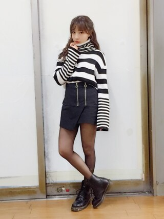 「Dr.Martens 8EYELET BOOTS(Dr.Martens)」 using this 村瀬紗英 looks