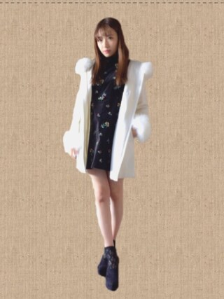 「CECIL McBEE(セシルマクビー)【CECIL PRESS掲載】メタルトグルファーダッフル31-40-7028-4(CECIL McBEE)」 using this 村瀬紗英 looks