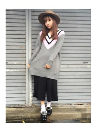 「ボレロハット(EGOIST)」 using this 村瀬紗英 looks