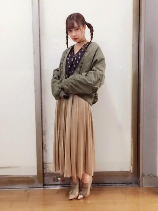 「ナカワタBIGMA-1 732585(LOWRYS FARM)」 using this 村瀬紗英 looks