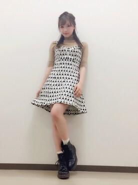 村瀬紗英さんのコーディネート