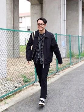 WEB事業部|エグチさんのパンツ「FORK&SPOON Jersey Trousers(URBAN RESEARCH DOORS MENS|アーバンリサーチ ドアーズ メンズ)」を使ったコーディネート
