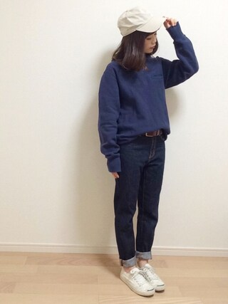 「NEWHATTAN/ニューハッタン ツイル6パネルキャップ(SENSE OF PLACE by URBAN RESEARCH)」 using this mAy☆uMe looks